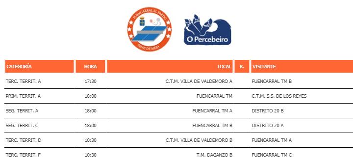 Horarios-Jornada-15-Liga-Tenis-De-Mesa